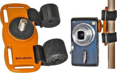 """Soligor Mini-Stativ /""""Smile Pod/"""" für Kameras"""